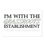 I'm With Grassroots Establish Postcards (Package o