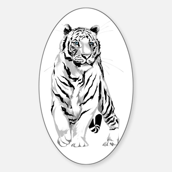 Standing Proudly Sticker (Oval)