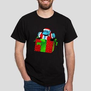 I Want A Hippopotamus For Christmas Dark T-Shirt