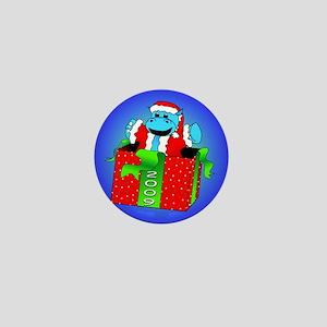 I Want A Hippopotamus For Christmas Mini Button