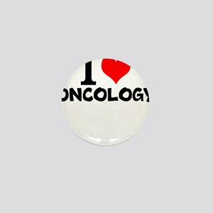 I Love Oncology Mini Button