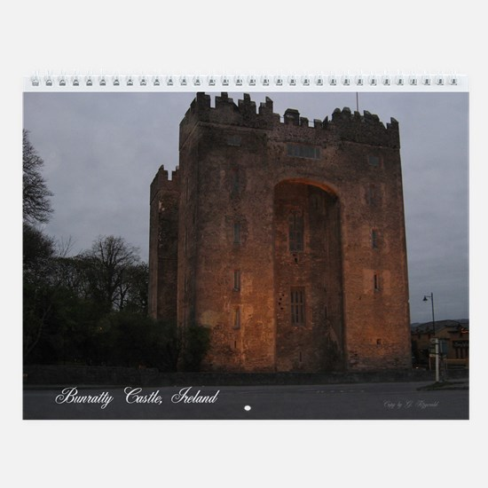 Unique Ireland castles Wall Calendar