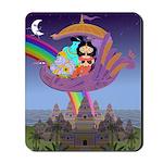 Sita & Rama Flying Home (Mousepad)