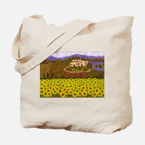 Cute Tuscany Tote Bag