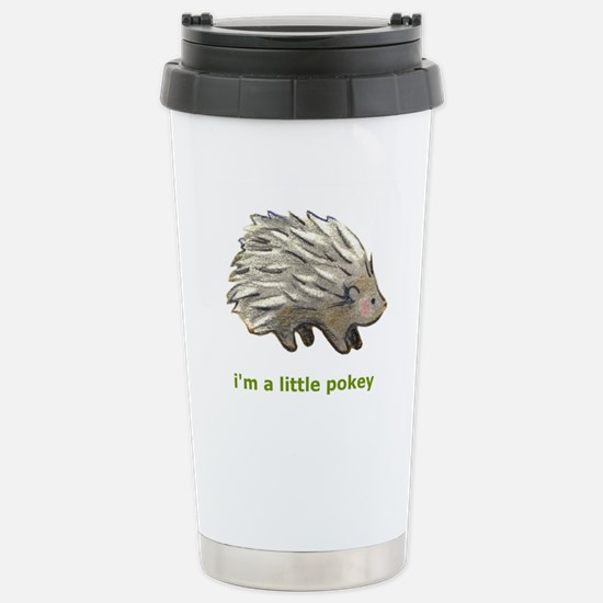 Pokey Stainless Steel Travel Mug