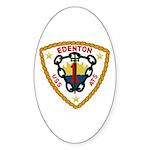 USS Edenton (ATS 1) Oval Sticker (10 pk)