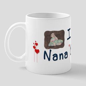 I Heart Nana Banana Mug