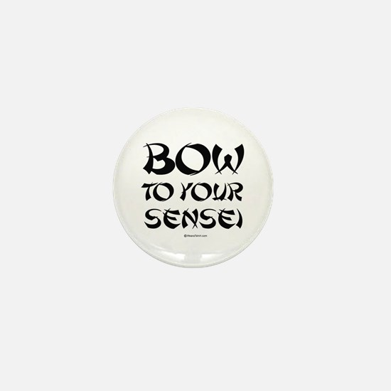 Bow to your sensei ~ Mini Button
