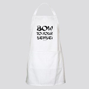 Bow to your sensei ~  BBQ Apron