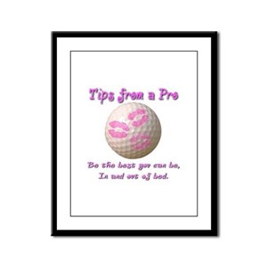 Be The Best You Can Be Framed Panel Print