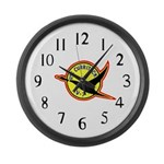 USS Currituck (AV 7) Large Wall Clock