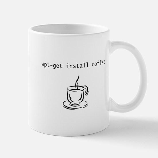 apt-get install coffee for geeks Mug