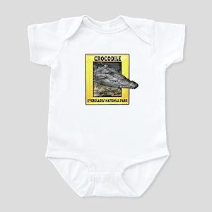 Everglades National Park Croc Infant Bodysuit