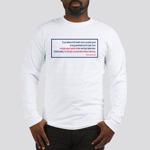 Krauthammer - Health Care Rat Long Sleeve T-Shirt
