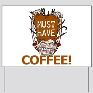 Food Drink Office Supplies Yard Signs Cafepress