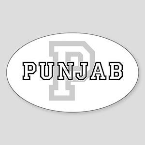 Punjab Oval Sticker