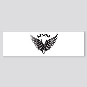 Singh wings Bumper Sticker