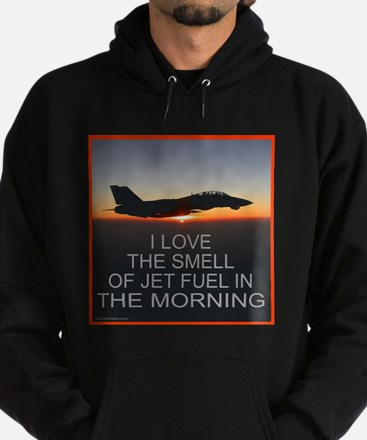 SMELL OF JET FUEL Hoodie (dark)