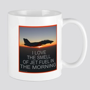 SMELL OF JET FUEL Mug