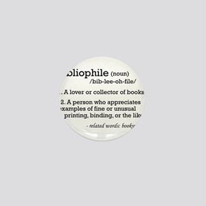 Bibliophile Definition Mini Button