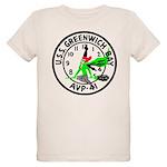 USS Greenwich Bay (AVP 41) Organic Kids T-Shirt