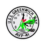 "USS Greenwich Bay (AVP 41) 3.5"" Button"