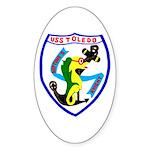 USS Toledo (CA 133) Oval Sticker (10 pk)