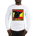 Spanish Map Long Sleeve T-Shirt