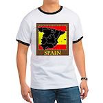 Spanish Map Ringer T