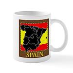 Spanish Map Mug