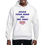 Speak Hooded Sweatshirt