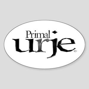 Primal Urje Oval Sticker