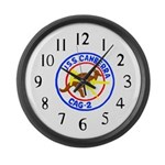 USS Canberra (CAG 2) Large Wall Clock