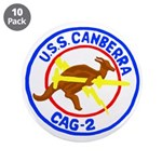 """USS Canberra (CAG 2) 3.5"""" Button (10 pack)"""