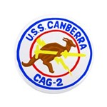 """USS Canberra (CAG 2) 3.5"""" Button"""