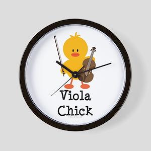 Viola Chick Wall Clock