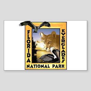 Florida Everglades NP Sticker (Rectangle)