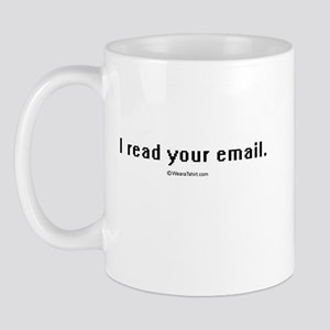 I read your email ~  Mug