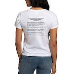 Jesus Says No Hate Women's T-Shirt