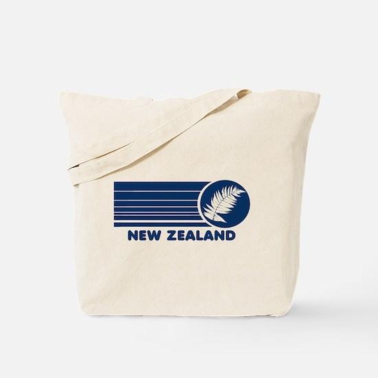 New Zealand Vintage Stripes Tote Bag