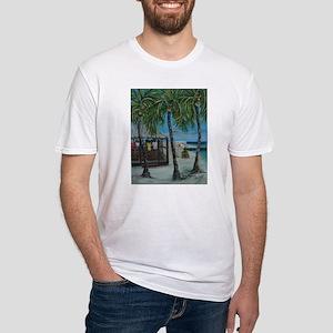 BCs Beach Bar Holiday Fitted T-Shirt