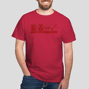 In Case Of Zombie Apocalypse Dark T-Shirt