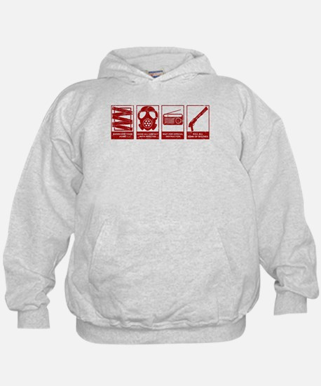 In Case Of Zombie Apocalypse Hoodie
