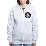 USS Northampton (CC 1) Women's Zip Hoodie