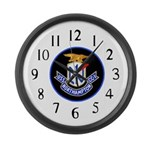USS Northampton (CC 1) Large Wall Clock