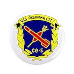 "USS Oklahoma City (CG 5) 3.5"" Button (100 pack)"