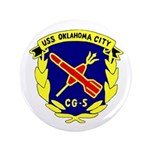 "USS Oklahoma City (CG 5) 3.5"" Button"