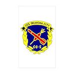 USS Oklahoma City (CG 5) Rectangle Sticker 50 pk)
