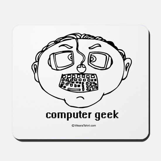 Computer Geek ~  Mousepad