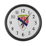 USS Chicago (CG 11) Large Wall Clock